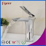 Fyeer Chrome Single Handle Waterfall Bathroom Original Sink Basin Faucet Water Mixer Tap