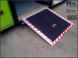 Ce Certified Wheelchair Loading Ramp for Bus with Loading 350kg