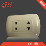 South American 2 Pins Wall Socket