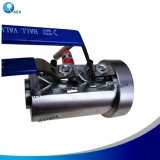 Stainless Steel Integral Body Double Bleed and Block Flange Mainfod Instrument NPT Screw Monoflange Floating Dbb Ball Valve with Drain