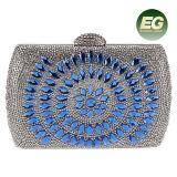 Latest Design Crystal Beaded Evening Bags for Girls Rhinestone Clutch Handbag Purses Eb869