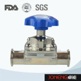 Stainless Steel Hygienic Manual Type Clamped Diaphragm Valve (JN-DV1003)
