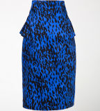 Hot Sale Party Clothing Bodycon Lepard Sexy Women Pencil Skirts