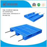 Logostics Plastic Pallet 1200*800*160mm HDPE environmental Plastic Tray with 3 Runners to Store Chemical Products