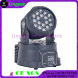 18x3W LED Mini Moving Head Cheap DJ Lights