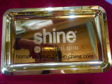 Shine 24k Real Gold Rolling Tray