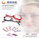 Hot Sales! Lady Make up Reading Glassses with Fashion Design