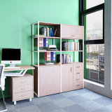 Home Office Furniture Storage Rack with Foldable Desk on Sale