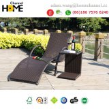 2018 Outdoor Leisure Furniture Chaise Lounger Rattan Chair Wicker Sun Longer-T020
