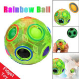 Children Adult Rainbow Magic Ball Fidget Cube 3D Puzzle Football Night Vision Toy