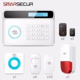 GSM/PSTN Home Security PIR/Door/Smoke/Gas/Siren Intruder Burglar Alarm Ios/Android