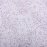 Two Colors Nylon/Cotton Fall Angle Plate Lace Fabric