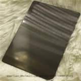 Satin Black Color Finish 304 Stainless Steel Sheet Interior Decoration Material