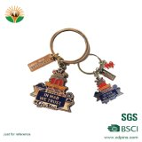 Wholesale Promotion Custom Souvenir Zinc Alloy Metal Keychain for Gift
