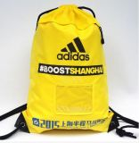210d Polyester Storage Beam Pocket Travel Sports Pull Rope Backpack