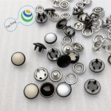 10.5mm 222# Fashion Various Pure Color Pearl Prong Snap Shirt/Jeans Button
