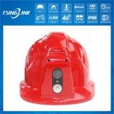 Realtime HD CCTV Video Transmission 4G Intelligent Safety Helmet