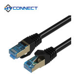 Patch Cord FTP Cat. 5e Black Color, 1m