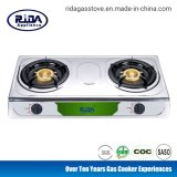 China Factory Cheap Price Hot Sale Honeycomb Burner Double Burner Stainless Steel Gas Stove