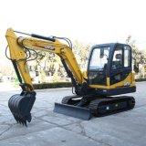 Micro Excavator 4.5 Ton Mini Crawler Excavator Digging Machine for Sale