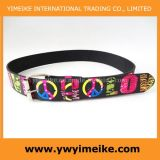 Love Peace Printed Garment Belt (LBD052221)