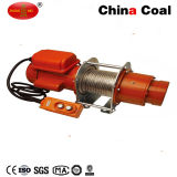 High Speed Small Electric Wire Rope Pulling Winch Hoist 12V DC
