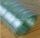 Double Ribbed Anti-Static Plastic Fabric PVC Strip Curtain (0.8mm-10mm)