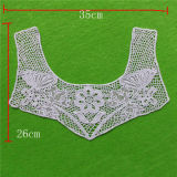 Cotton Lace Collar with Eyelet Appliques (cn61)