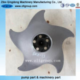 Investment Casting Stainless Steel /Alloy Steel Durco Pump Impeller