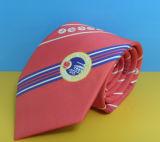 Polyester Neckties, Custom Logo Tie, Men Tie