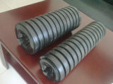 Industrial Cema Rubber Ring Impact Conveyor Idler Roller