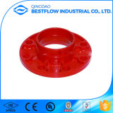 FM UL Grooved Ductile Iron Pipe Fitting Connect Flanges