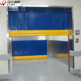 Industrial Self Repairable PVC Repaired Fast Roller Shutter Door