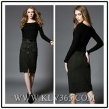 Fashion Women Sexy Sheath Long Sleeve Party Dresses
