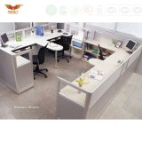 Modern Design Call Center Workstation Office Cubicle Office Partition for Office Furniture Fsc Forest Certified by SGS (HY-246)