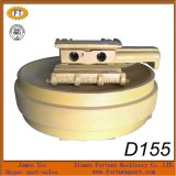 Bulldozer Undercarriage Spare Parts Front Idler Wheel for Komatsu D155