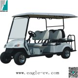 Electric Utility Car, 6 Seats, with Jumper Seat, Eg2049ksz, CE, Lsv, Nev