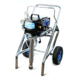 Airless Paint Sprayer Piston Pump Spt670, Self-Leveling Floor Paint
