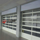 Full View Clear Sectional Transparent Garage Door