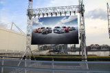 Brightness Adjustable Front Rear Access Outdoor LED Screen for Rental