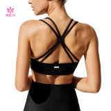 Fitness Active Workout Clothes Custom Crop Tank Top Gym Wear Sports Yoga Bra