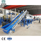 Pet Bottles Crusher Price Waste Pet Plastic Bottle Flakes Washing Recycling Machine with Hot Washer