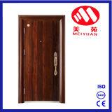 2017 New Design Exterior Steel Security Entrance Metal Door Hj-F23