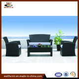Wholesale Garden Home Outdoor Furniture PE Rattan Round Table Chair (WFD-02A)