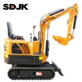 0.8 Ton New China Small Hydraulic Bucket Crawler Mini Bagger Excavator with Cheap Factory Price