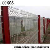 Easily Assembled Anti Climb Security PVC Coated Triangle Wire Mesh Cheap Farming Fence