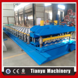 Glazed Roof Tile Cold Roll Forming Machine for Semi Circle Type