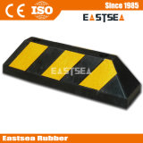 Traffic Safety Rubber Reflective Truck Wheel Stop