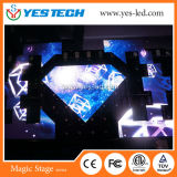 High Definition Full-Color Triangle Shaped LED Display