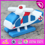 2015 Hot Sale Wooden Plane Toy, Wood Kids Toy Plane Slide, Plane Toy Wood for Baby, Kids′ Wooden Toy Plane W04A190